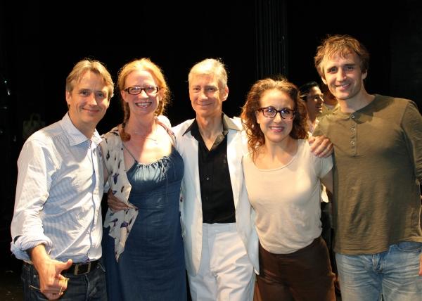 LINUS ROACHE, JOHANNA DAY, DAVID GARRISON, JENN HARRIS and PETE SIMPSON